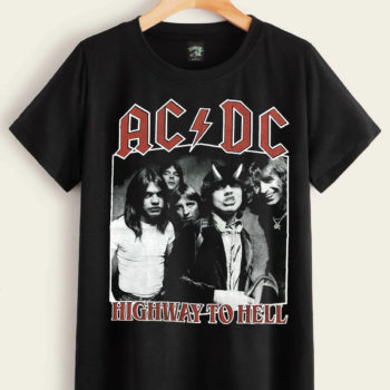 ACDC North AmericanTour 1979 Shirt Rock Band Shirts Vintage