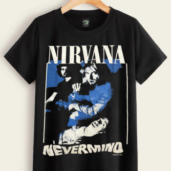 Nirvana Nevermind Shirt Rock Band Shirts Vintage